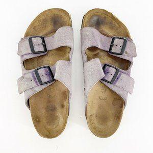 Birkenstock Arizona 41 Slide on Leather Sandals